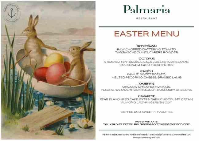 Easter in Portovenere. Easter Cinque Terre Liguria