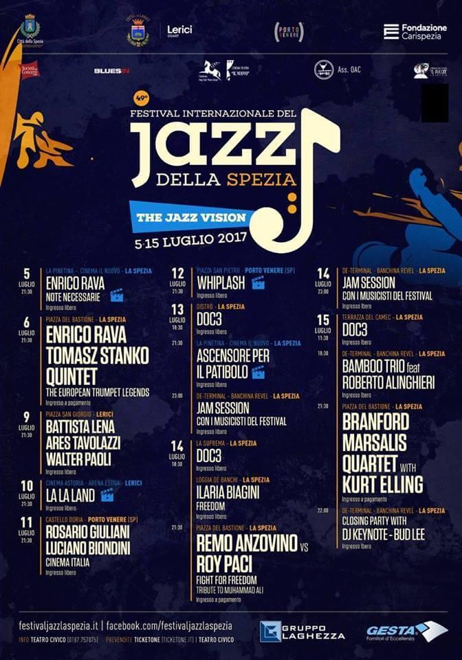 jazz festival spezia summer 2017