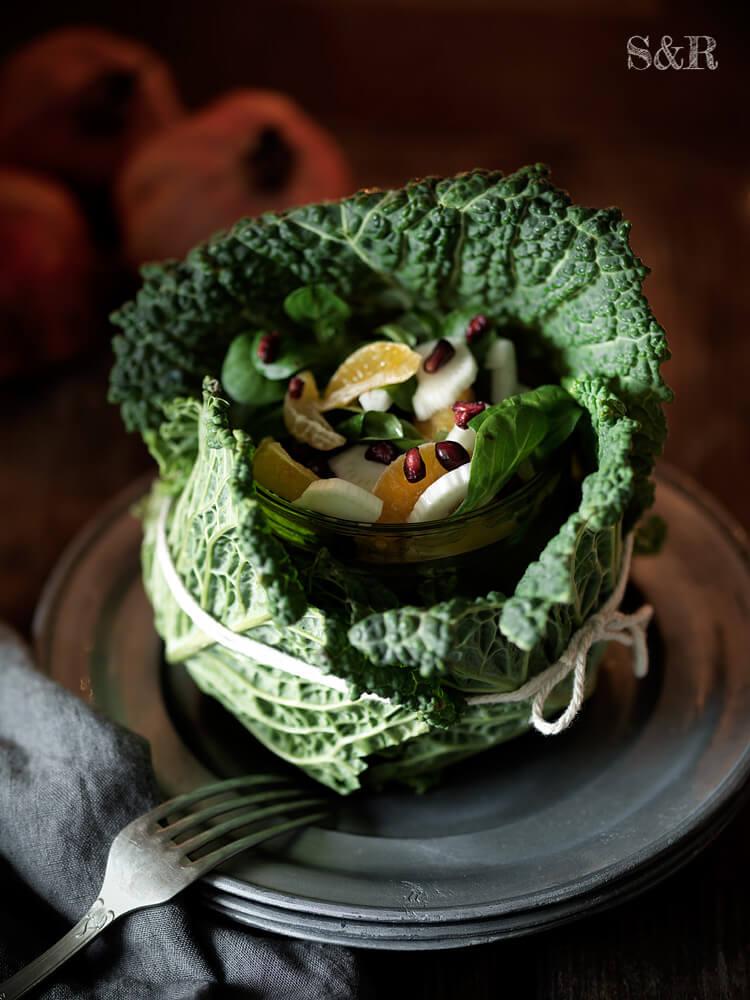 vegetable fruit salad recipe by salviarosmarino.com