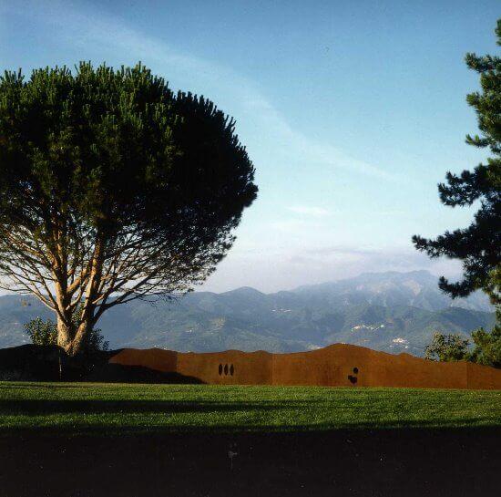 La Marrana garden art park in the Gulf of Poets, Liguria / Kengiro Azuma - Sogno
