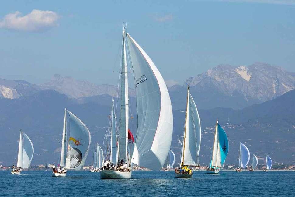 Historic Sailboats in Viareggio Marco-Trainotti