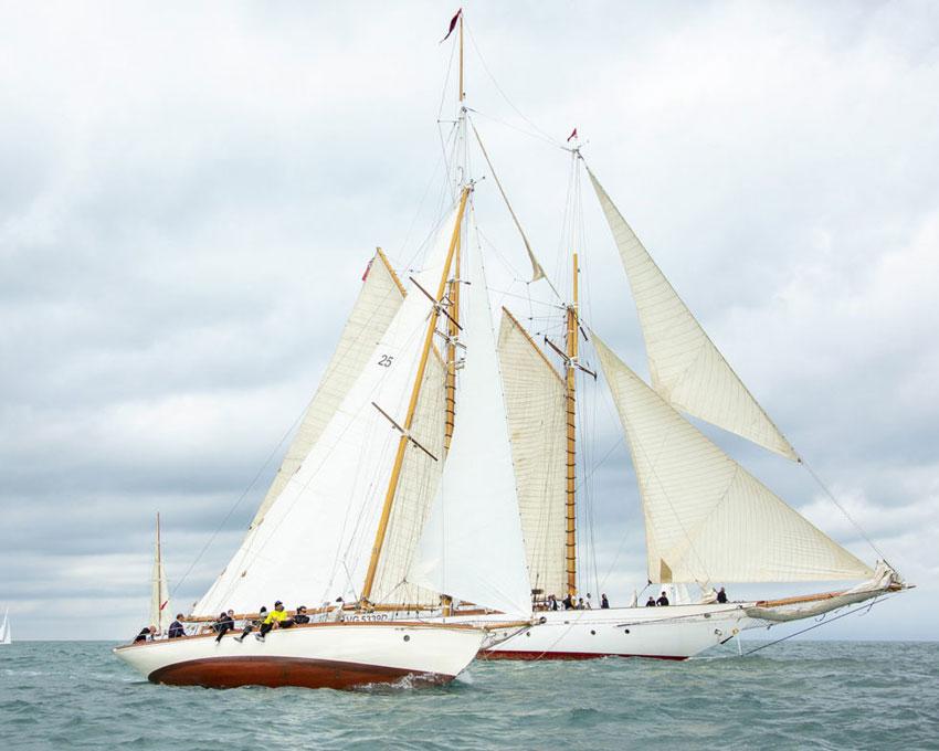 Historic Sailboats in Viareggio: annual gathering & regatta