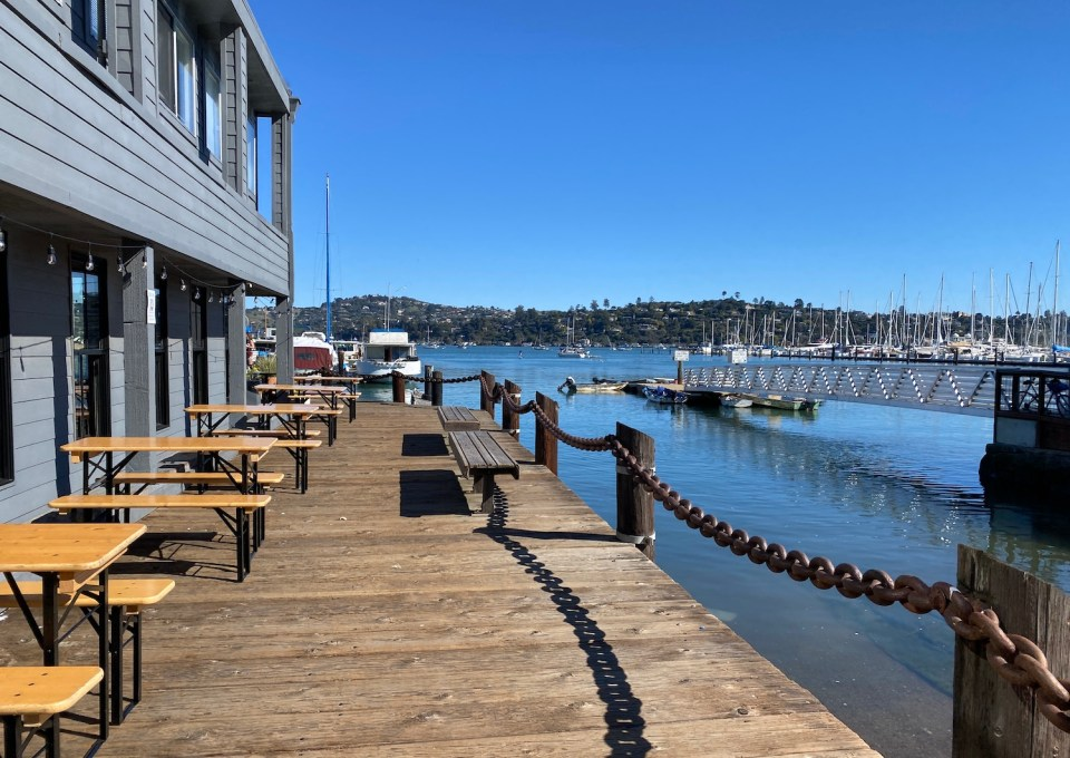 Sausalito Restaurants on the Water - Joinery