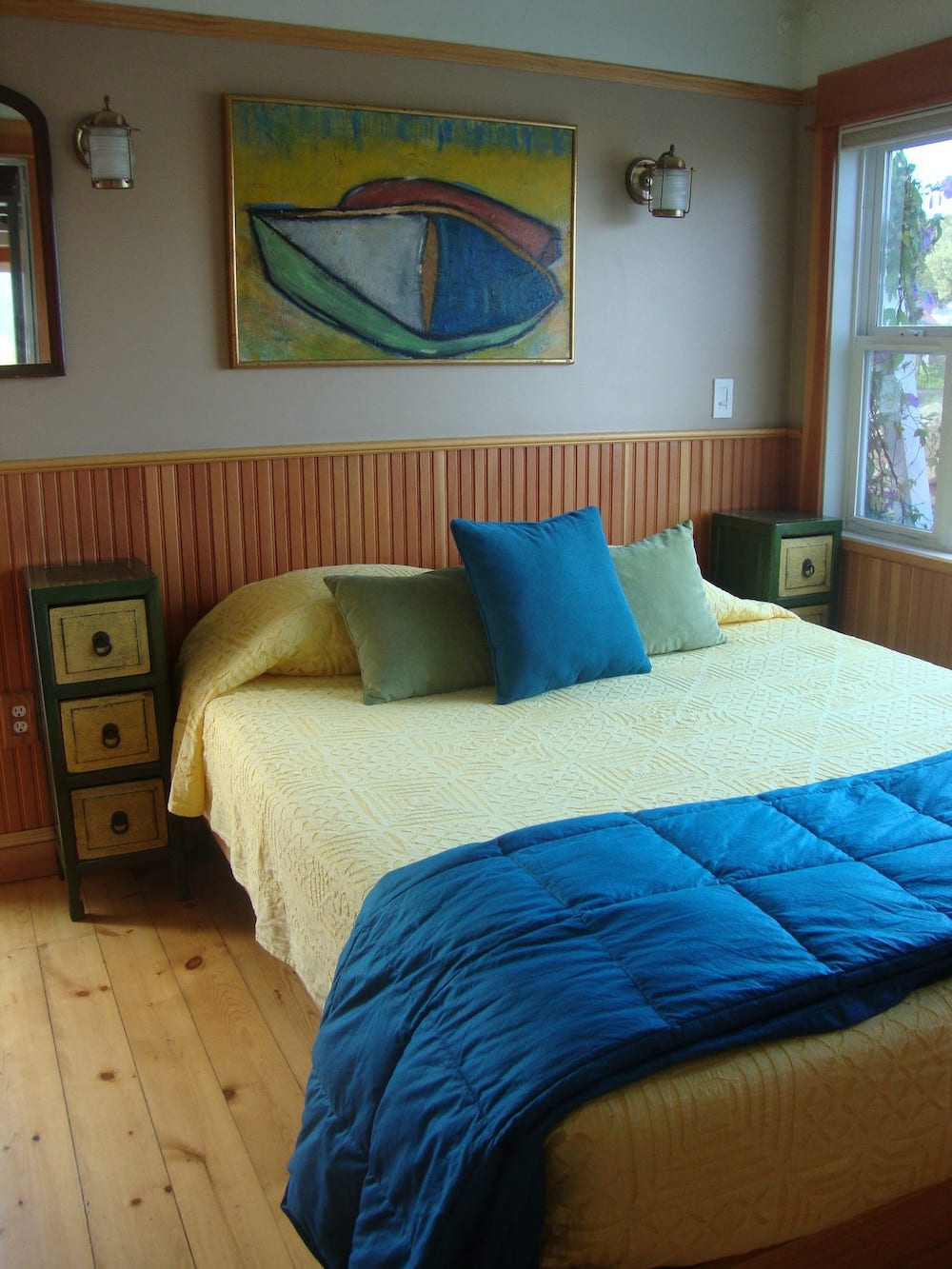 Sausalito Houseboats - Guest Gottage Bedroom