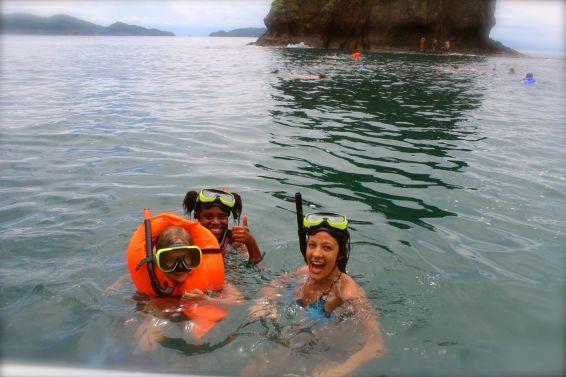 We love snorkeling!