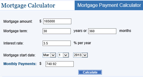 Image Result For Mortgage Calculator With Pmi Taxes Insurance