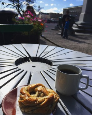 Morning Fika in Kungsträgården