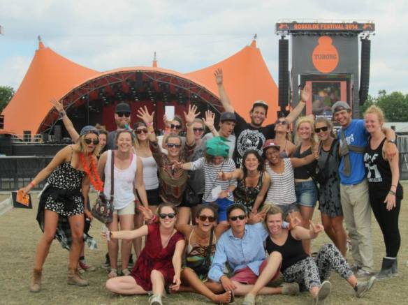 Final day at Roskilde Festival