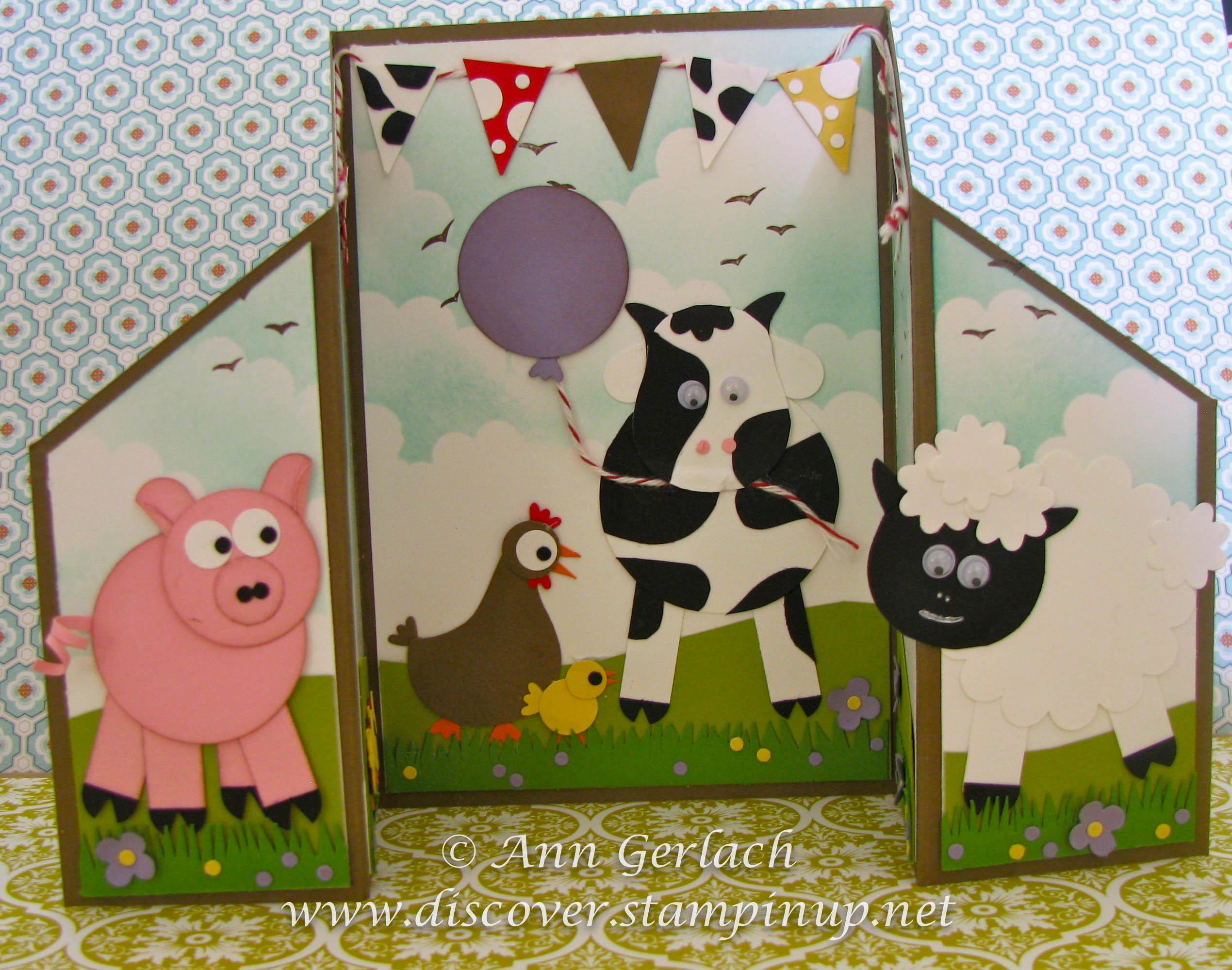 Punch Art Farm Yard Fun Discover Ink Ann Gerlach