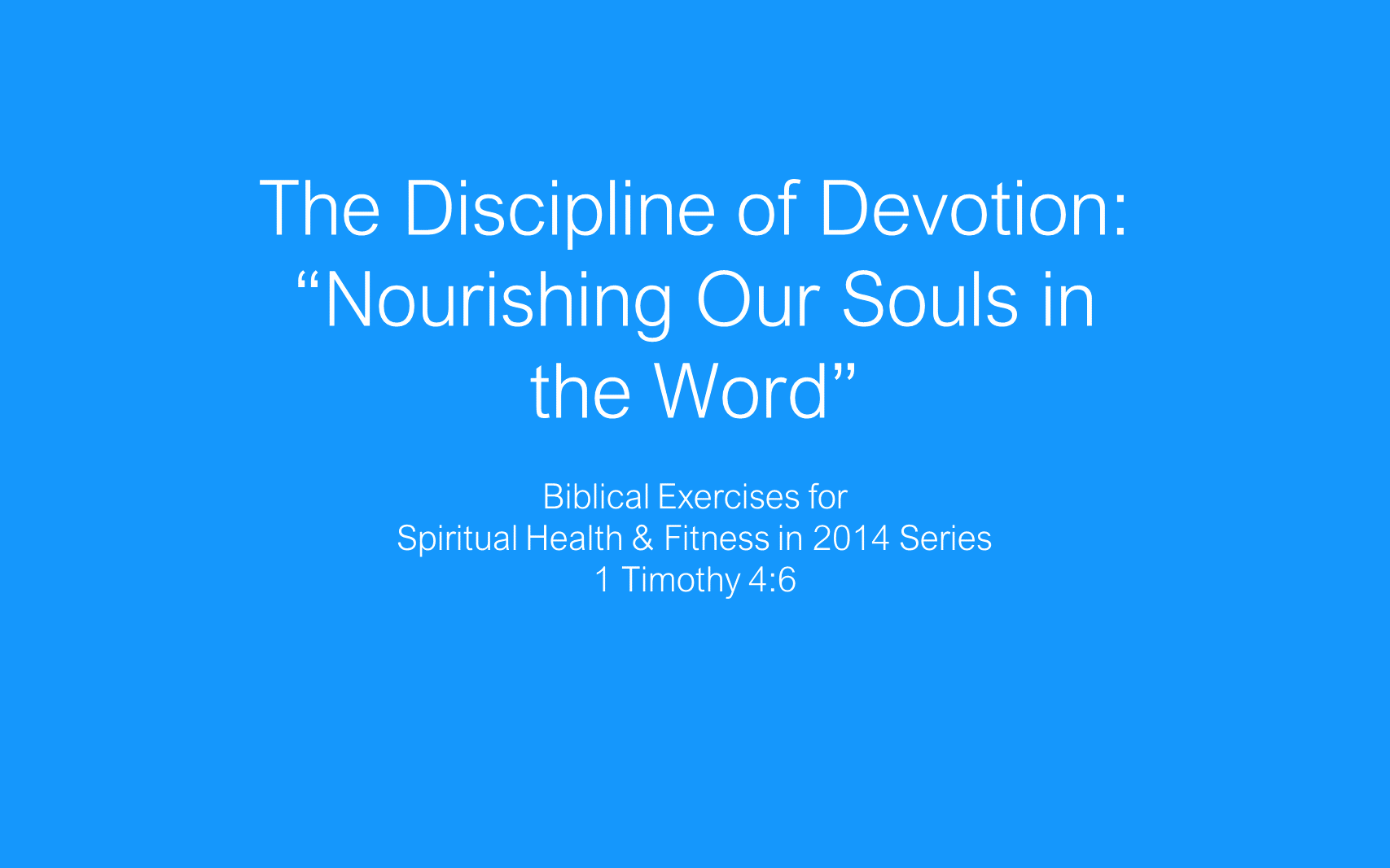 ESH-06 - The Discipline Of Devotion - Nourishing Our Souls In The World (2)