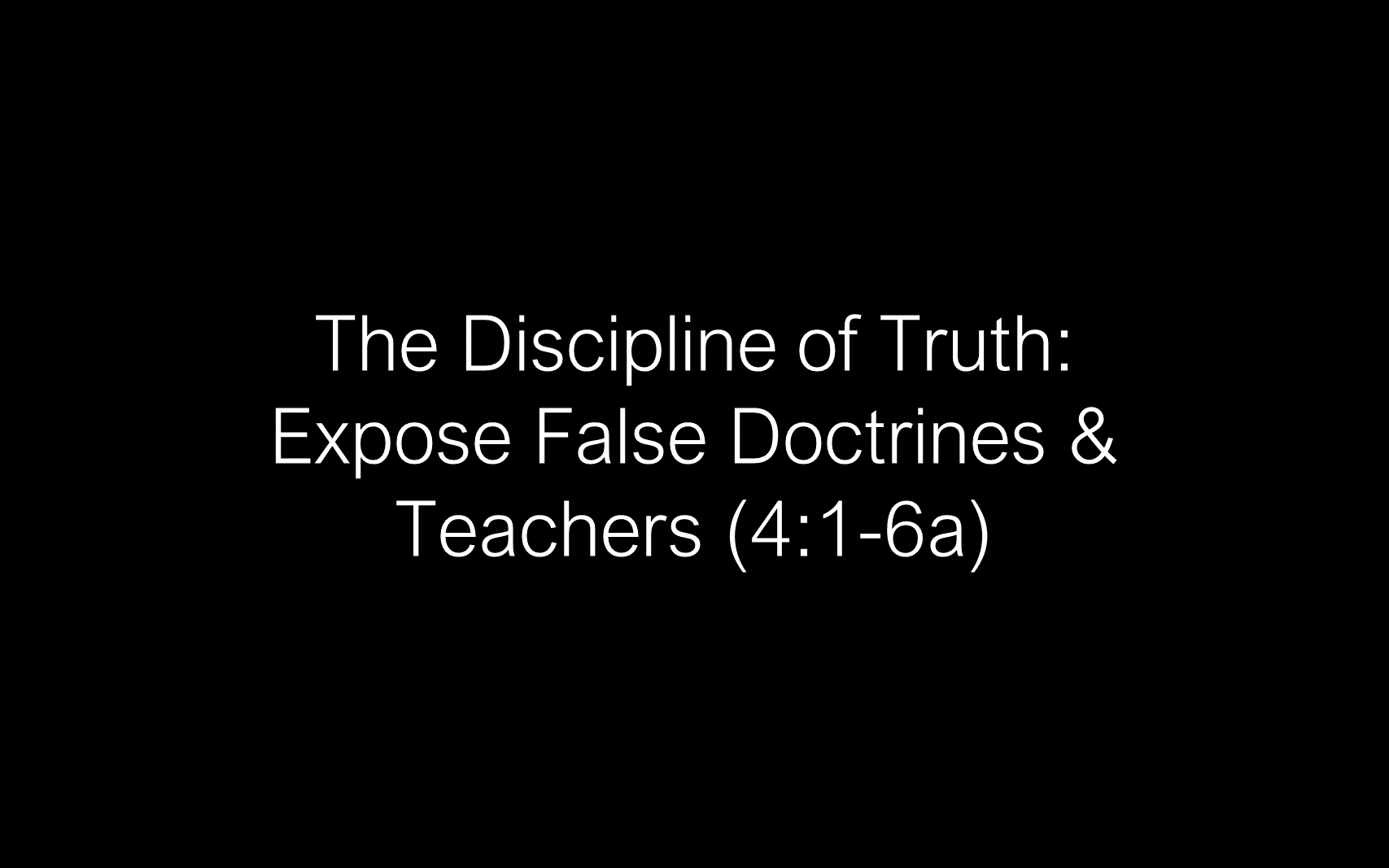 ESH-08 - The Discipline Of Integrity - Pursuing Personal Godliness (4)