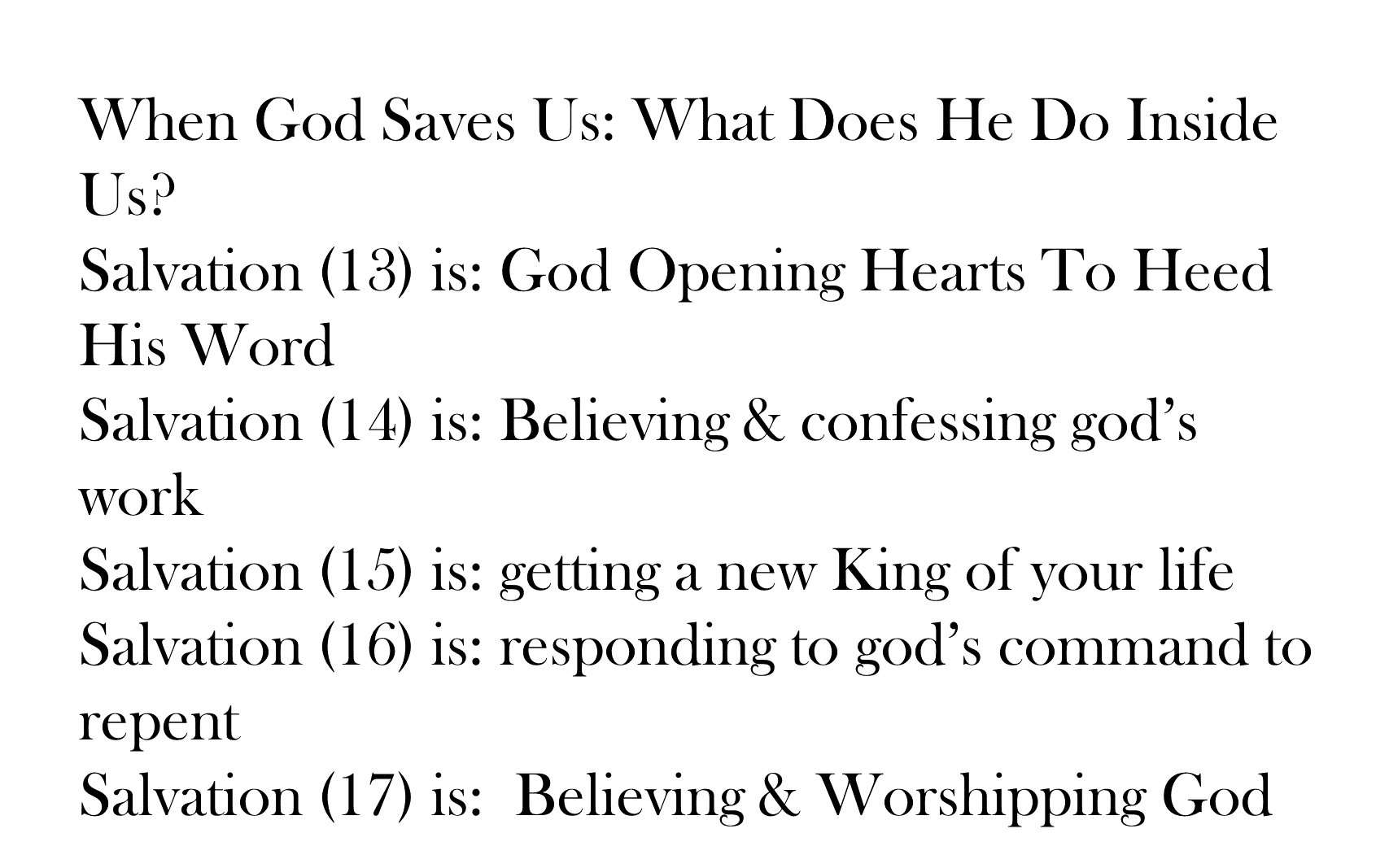 ESH-19 - The Discipline Of Disciple-Making - When God Saves Us - What Does He Do Inside Us (21)