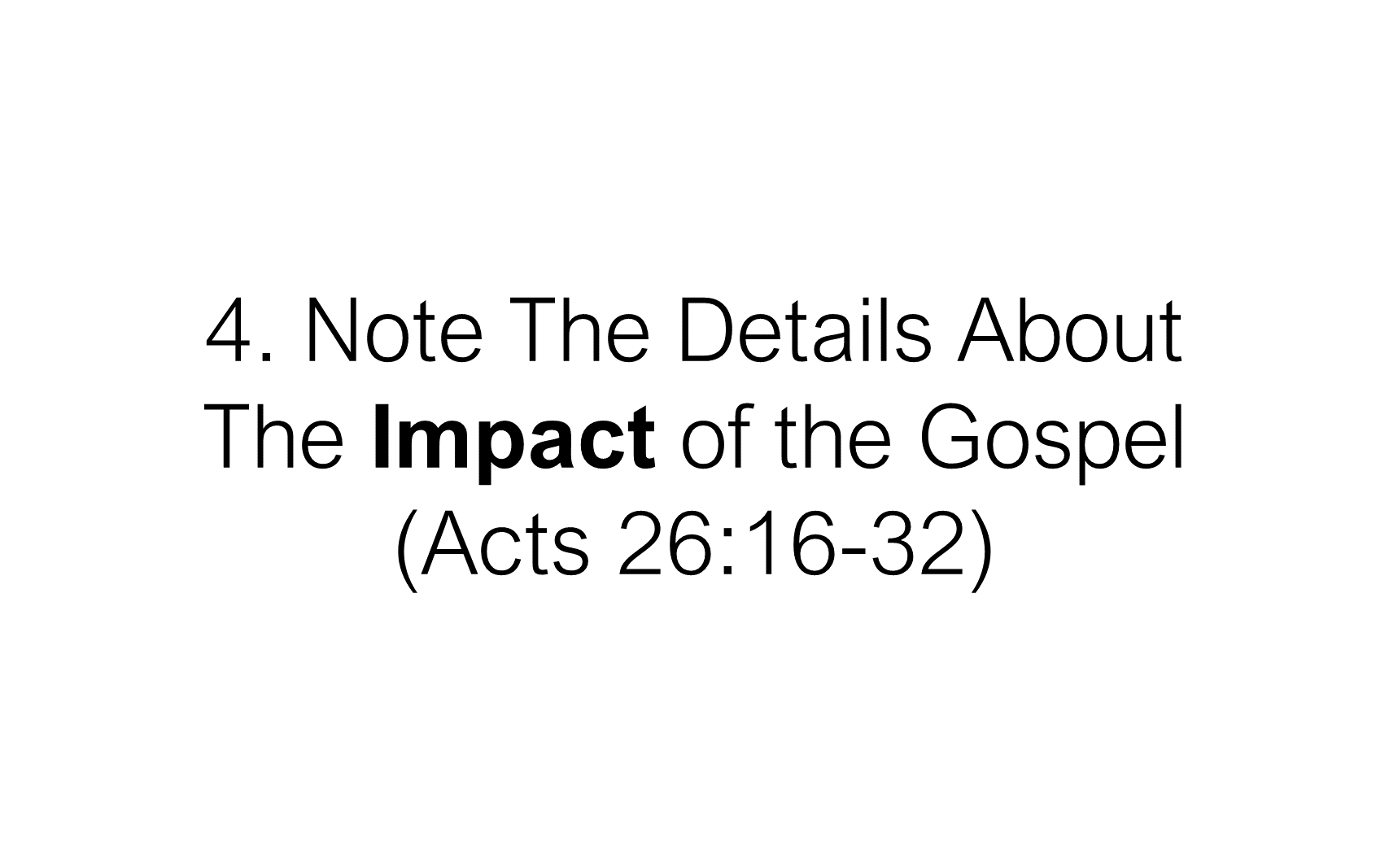 ESH-22 - The Discipline Of Disciple-Making - When Christ Explained The Gospel To Paul (12)