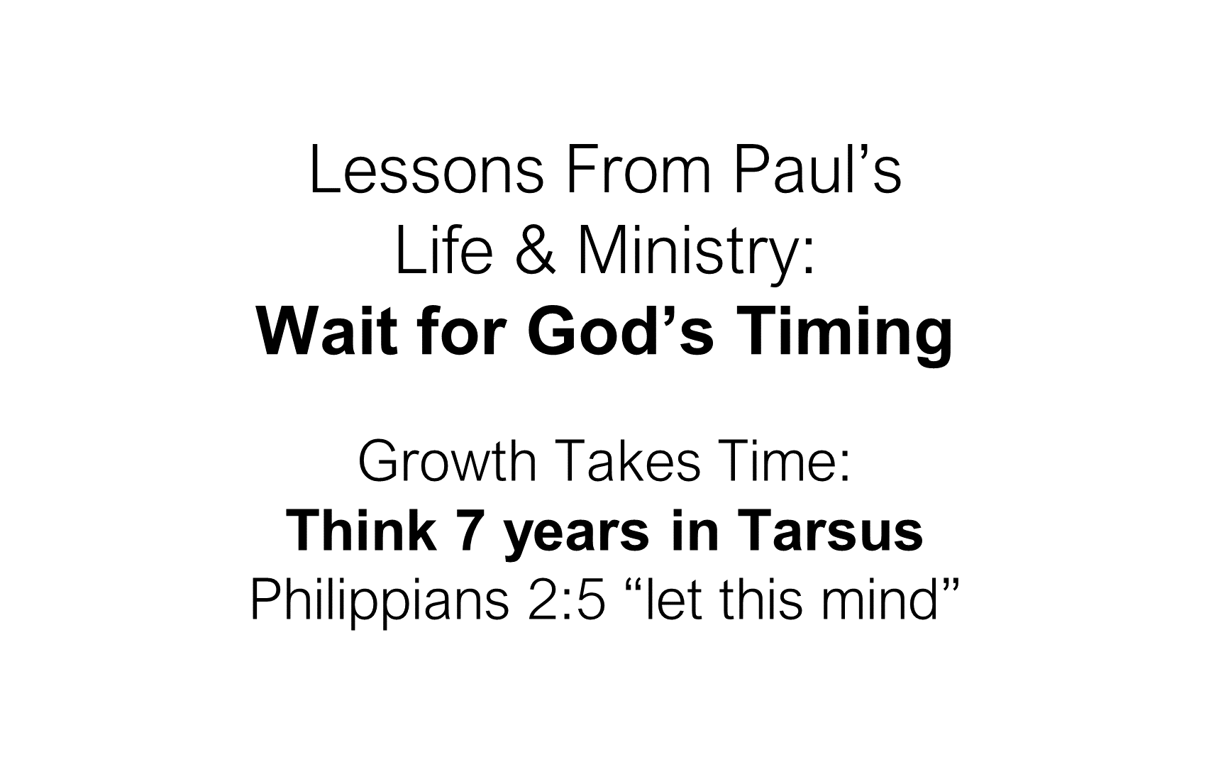 ESH-23 - The Discipline Of Disciple-Making - Paul - Used By God To Change The World (23)