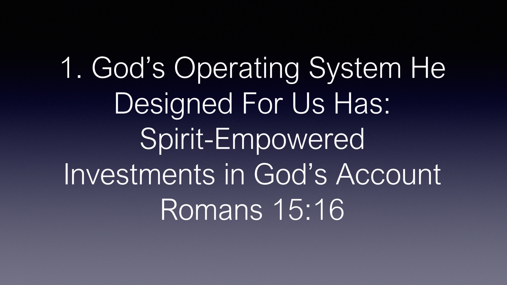 ESH-32 - God Designed The Most Amazing Operating System In The Universe - How Well Is It Working In Your Life (13)