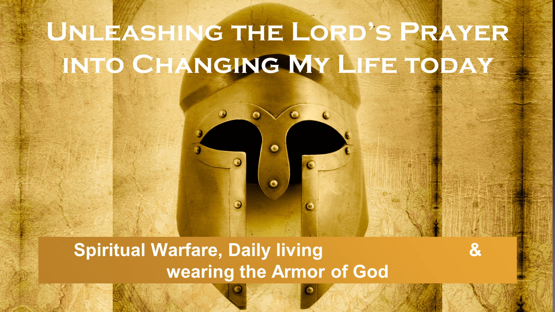 SWS-01 - Unleashing The Lord's Prayer Into Changing My Life Today (1)