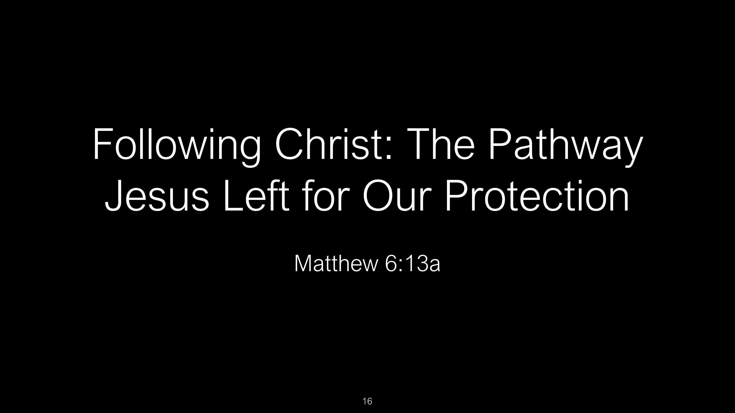 SWS-10 - Following Christ - The Path Jesus Left For Our Safety (16)