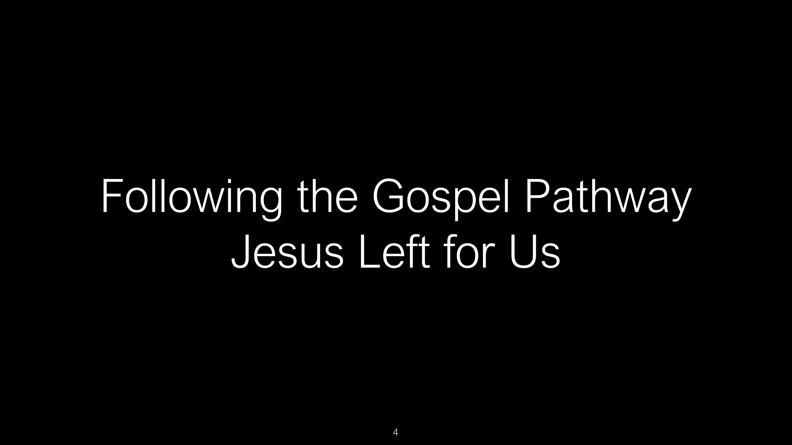 SWS-10 - Following Christ - The Path Jesus Left For Our Safety (4)