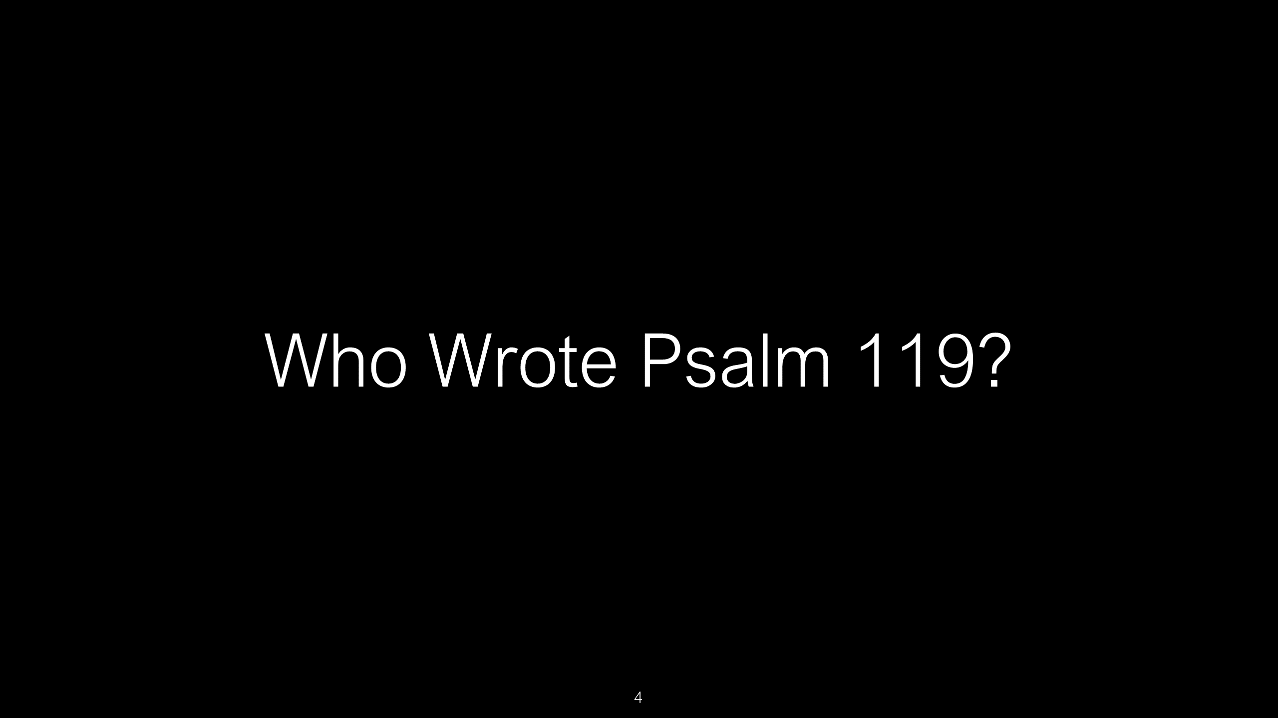 SWS-36 - Psalm 119 - The Bible's Longest Chapter is a Spiritual Diary on How to Use God's Word as the Sword o (4)
