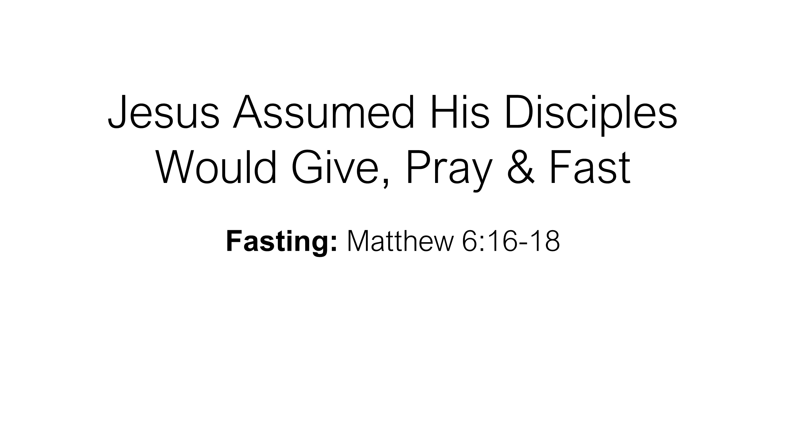 FTF-23 - Hungering For God - A Life Of Prayer & Fasting (6)