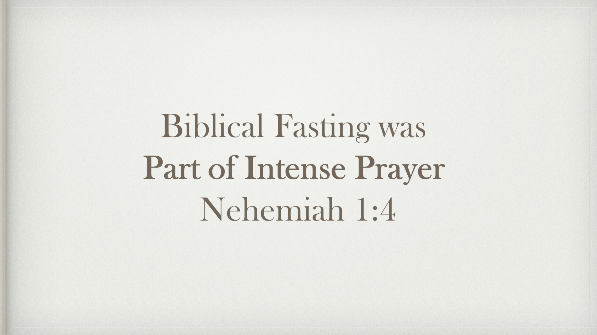 FTF-24 - Hungering For God - What Did Fasting Look Like In Biblical Times (13)
