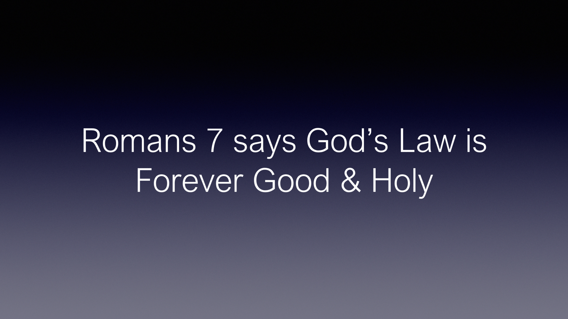 HFG-12 - Our God - Revelaled Through His Attributes, Reflected in His Law, and Illustrated by His Ceremonies (10)