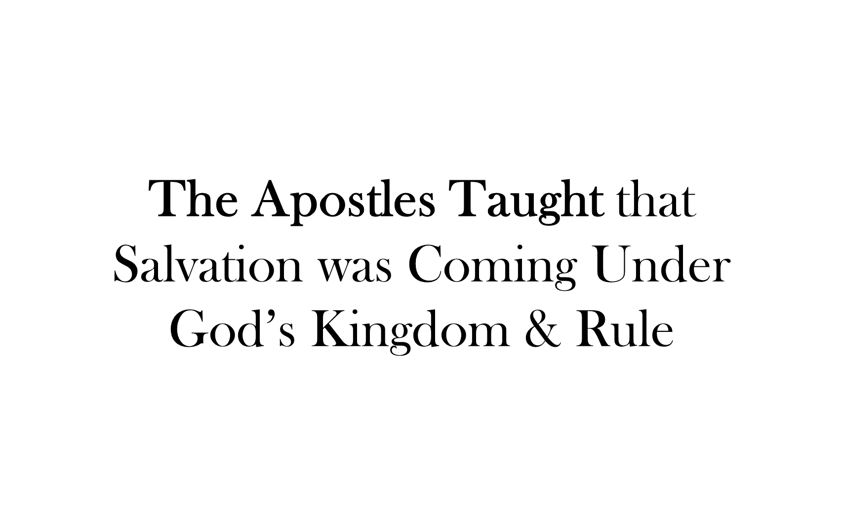 ESH-20 - The Discipline Of Disciple-Making - Seeing, Understanding, Entering, Living, & Seeking The Kingdom Of God ( (5)