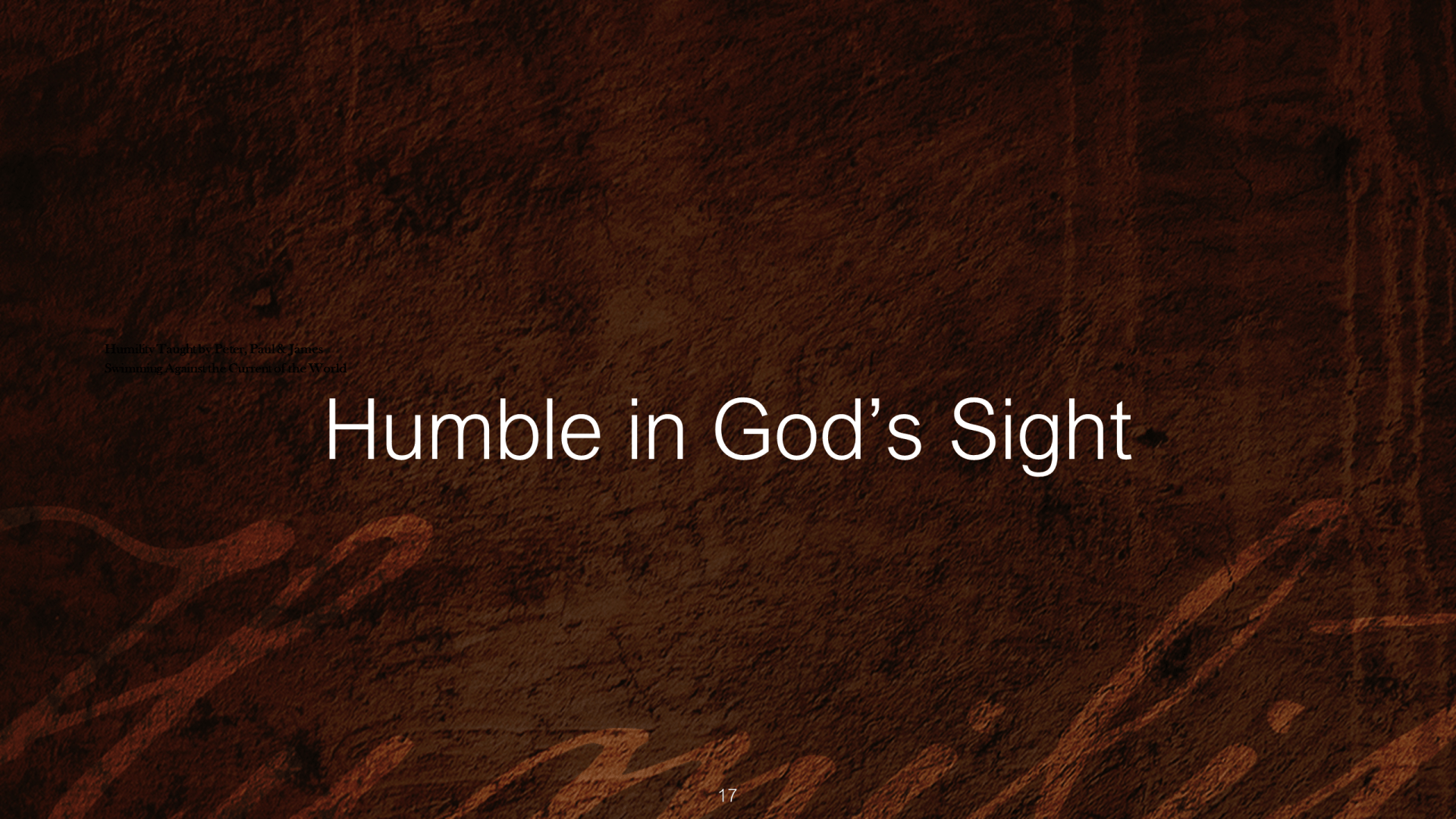 PBH-05 - James' Message - Salvation, Humility & the Sight of God (17)