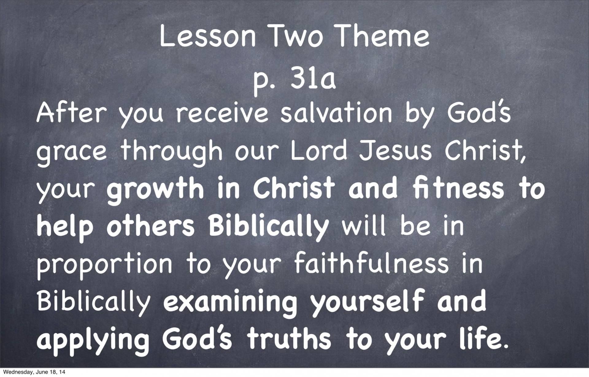 BC&D-05 - Foundations For Santification - Part 1-20