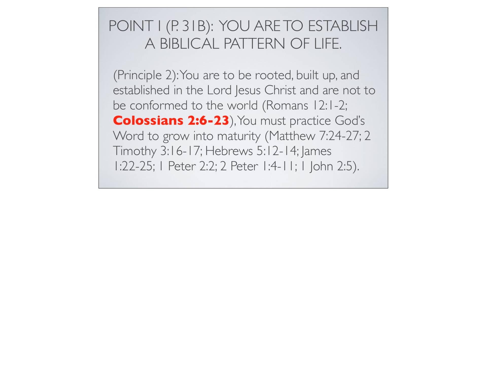BC&D-06 - Foundations For Sanctification - Part 2-07