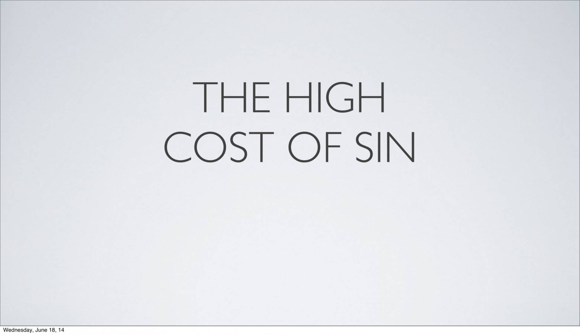 BC&D-14 - Lesson 5-1 - The Inescapable Consequences Of Sin-09
