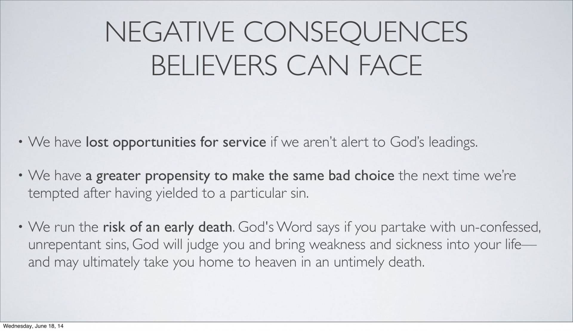 BC&D-14 - Lesson 5-1 - The Inescapable Consequences Of Sin-17