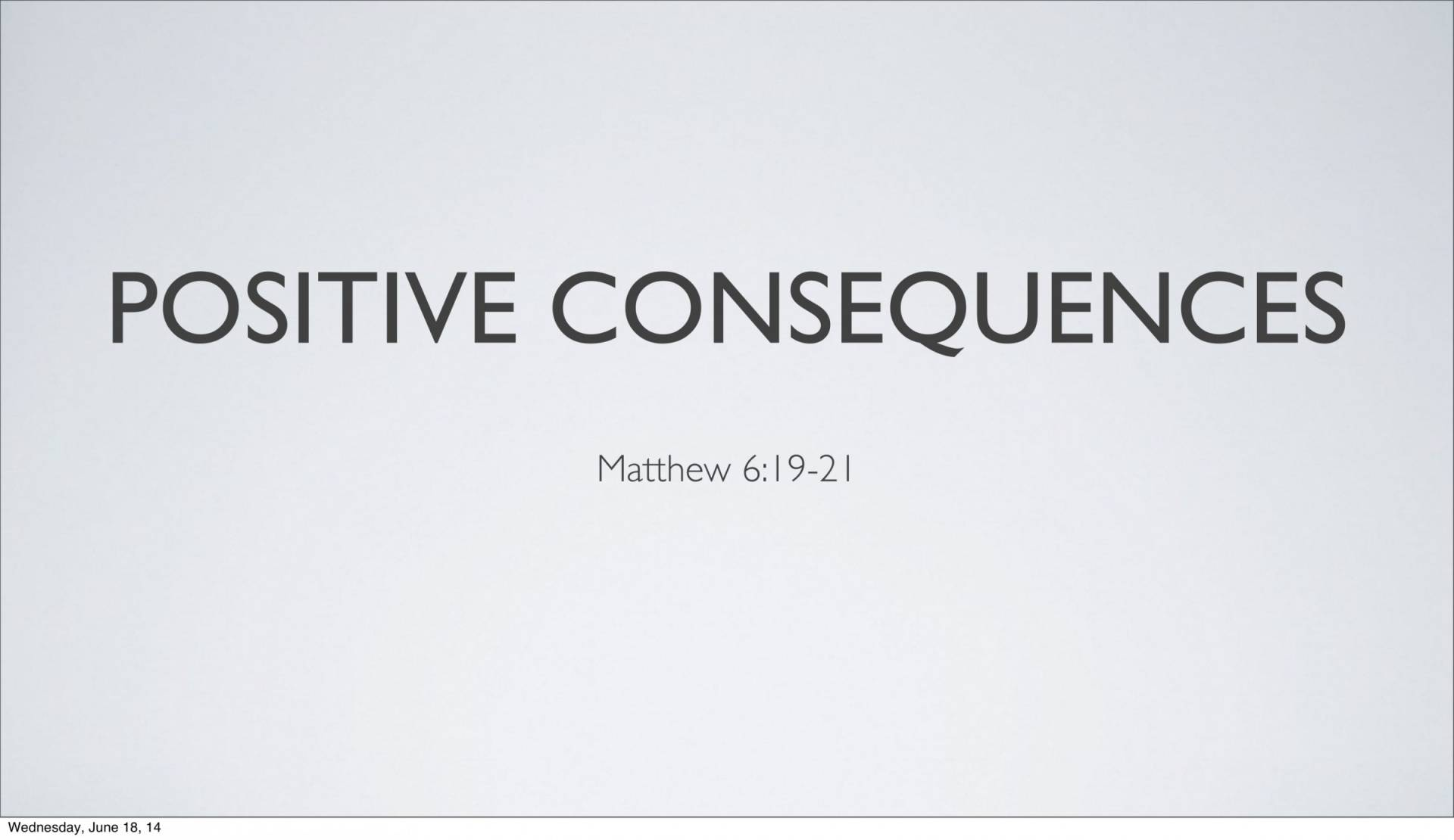 Lesson 5-1 - The Inescapable Consequences Of Sin - Discover the Book
