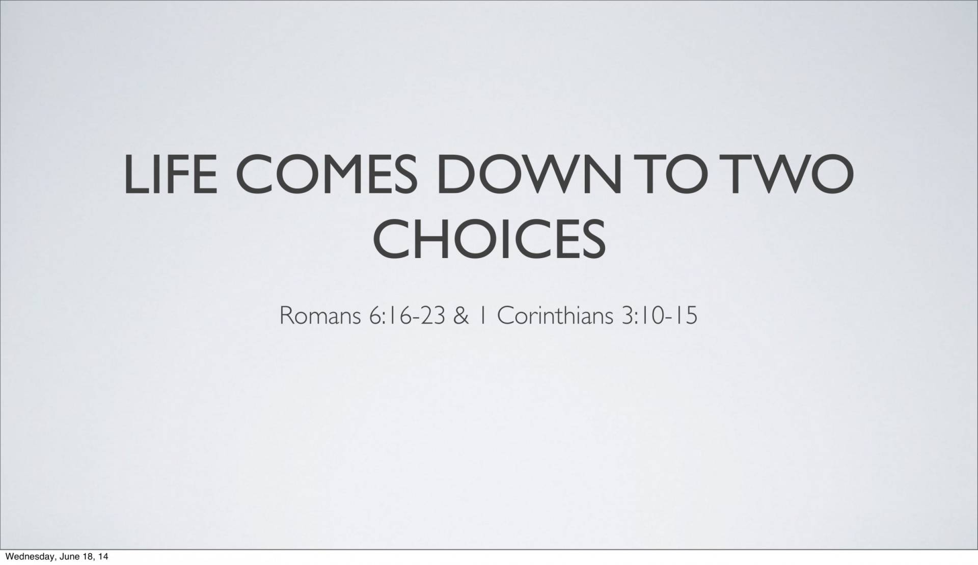 BC&D-14 - Lesson 5-1 - The Inescapable Consequences Of Sin-19