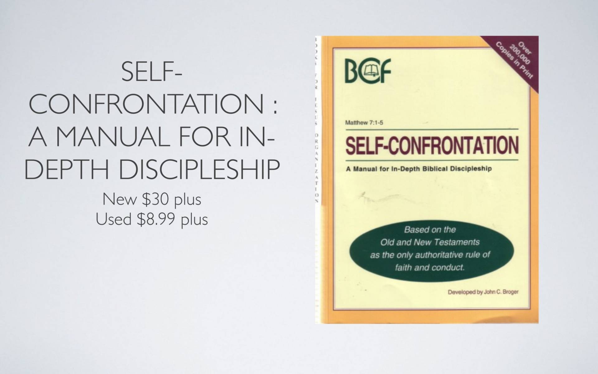 BC&D-28 - Lesson 9-1 - Dealing With Self-02