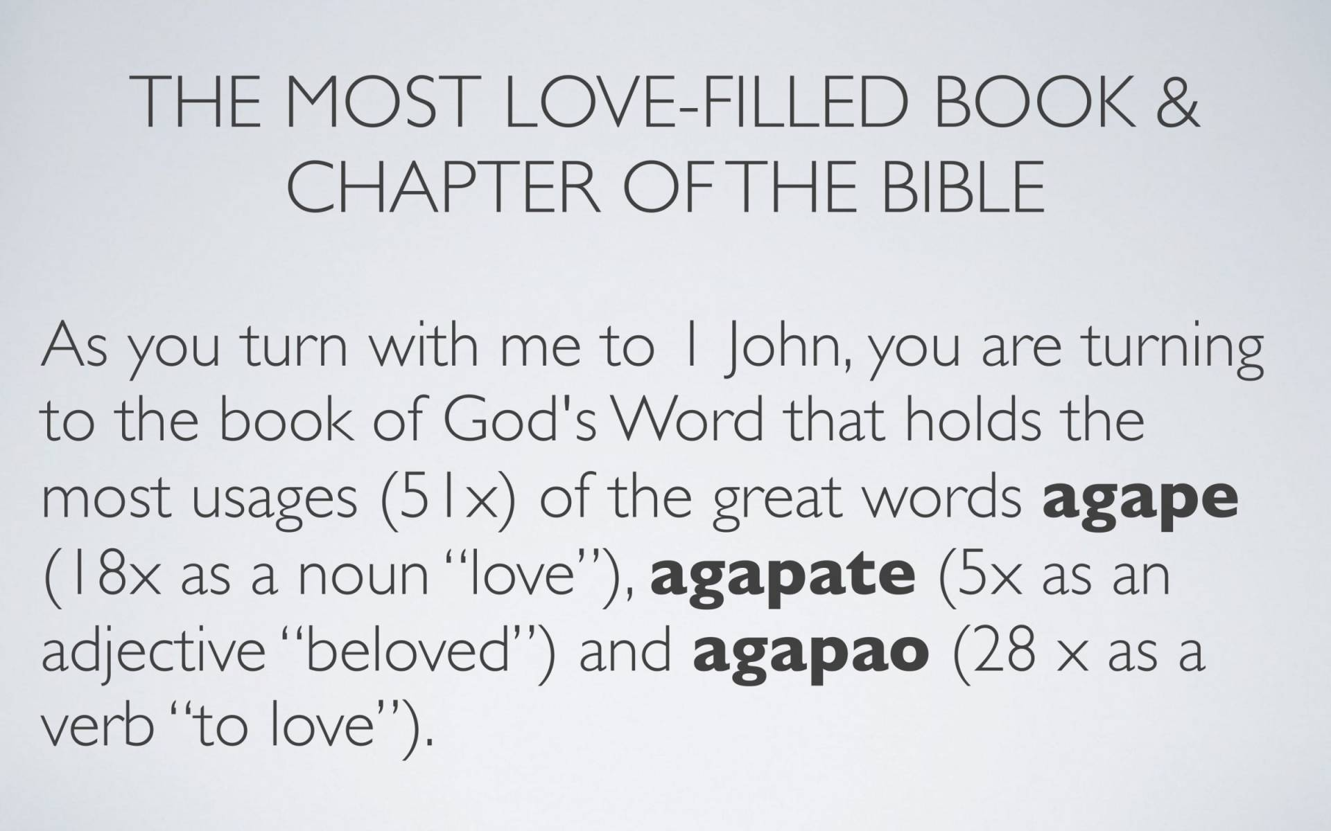 BC&D-34 - Lesson 13-2 - The Source Of The River Of Love That Is To Flow Out Of The Life Of A Believer-11