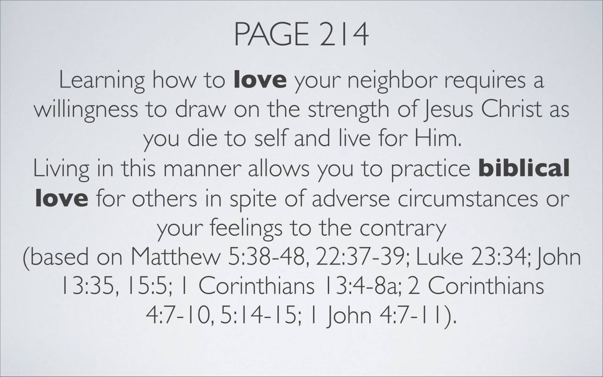 BC&D-35 - Lesson 13-3 - The Source Of The River Of Love That Flows Out Of Our Lives As Believers-06