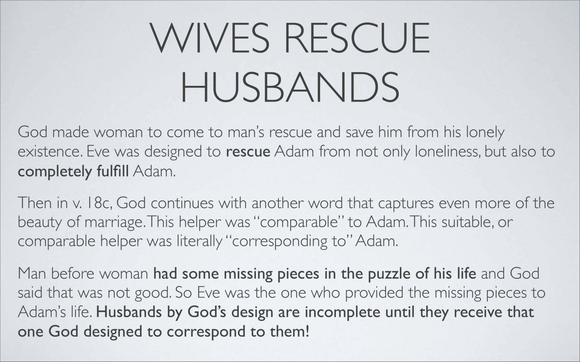 BC&D-37 - Lesson 15-1 - The Marriage Relationship - Husbands-13