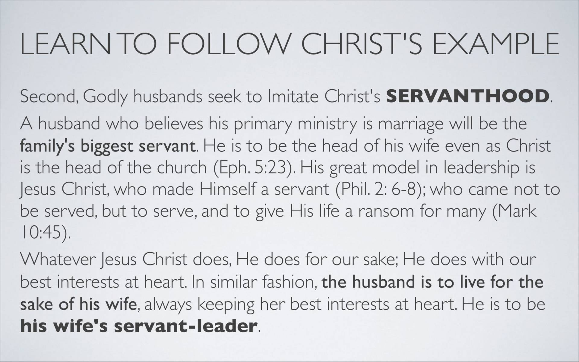 BC&D-37 - Lesson 15-1 - The Marriage Relationship - Husbands-18