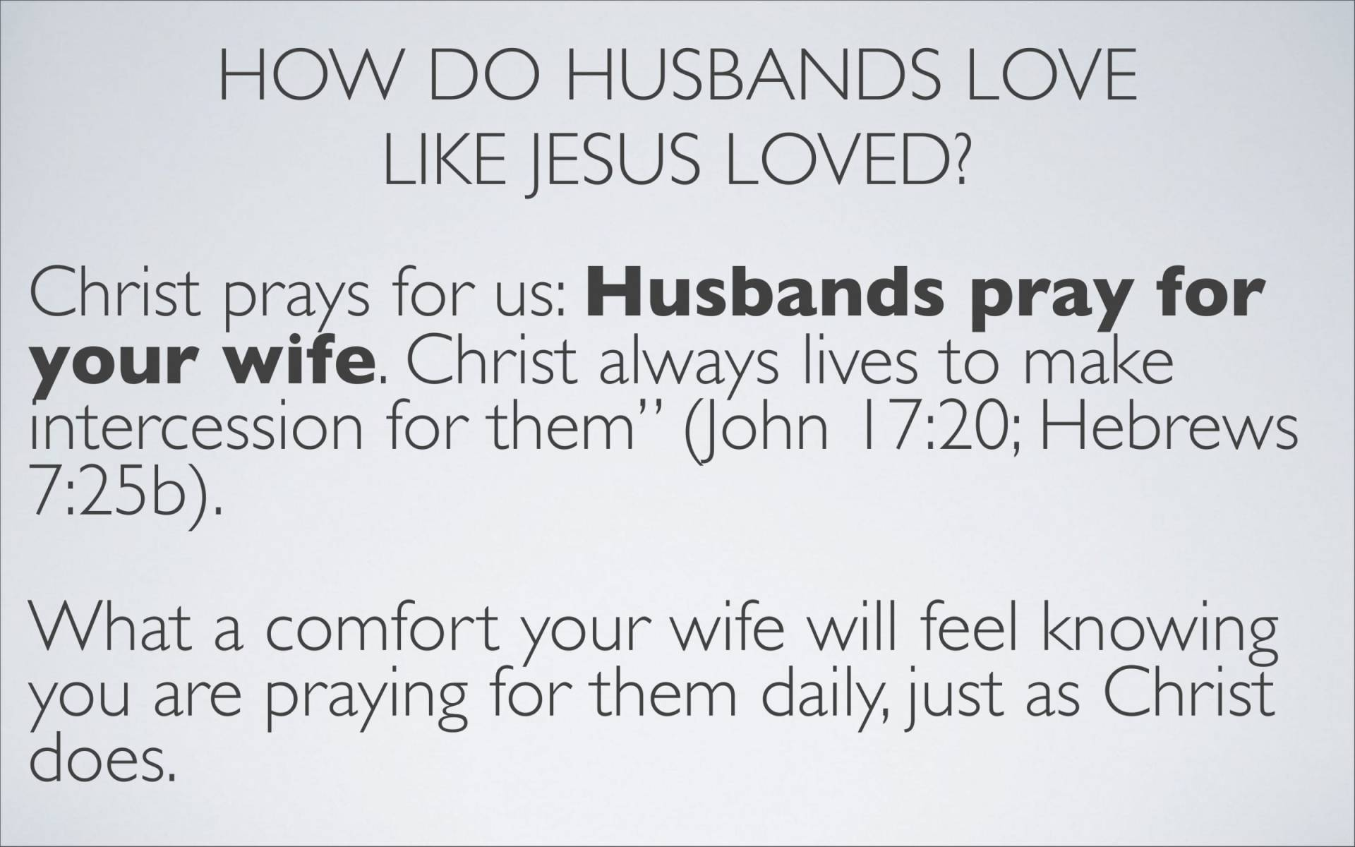 BC&D-37 - Lesson 15-1 - The Marriage Relationship - Husbands-25