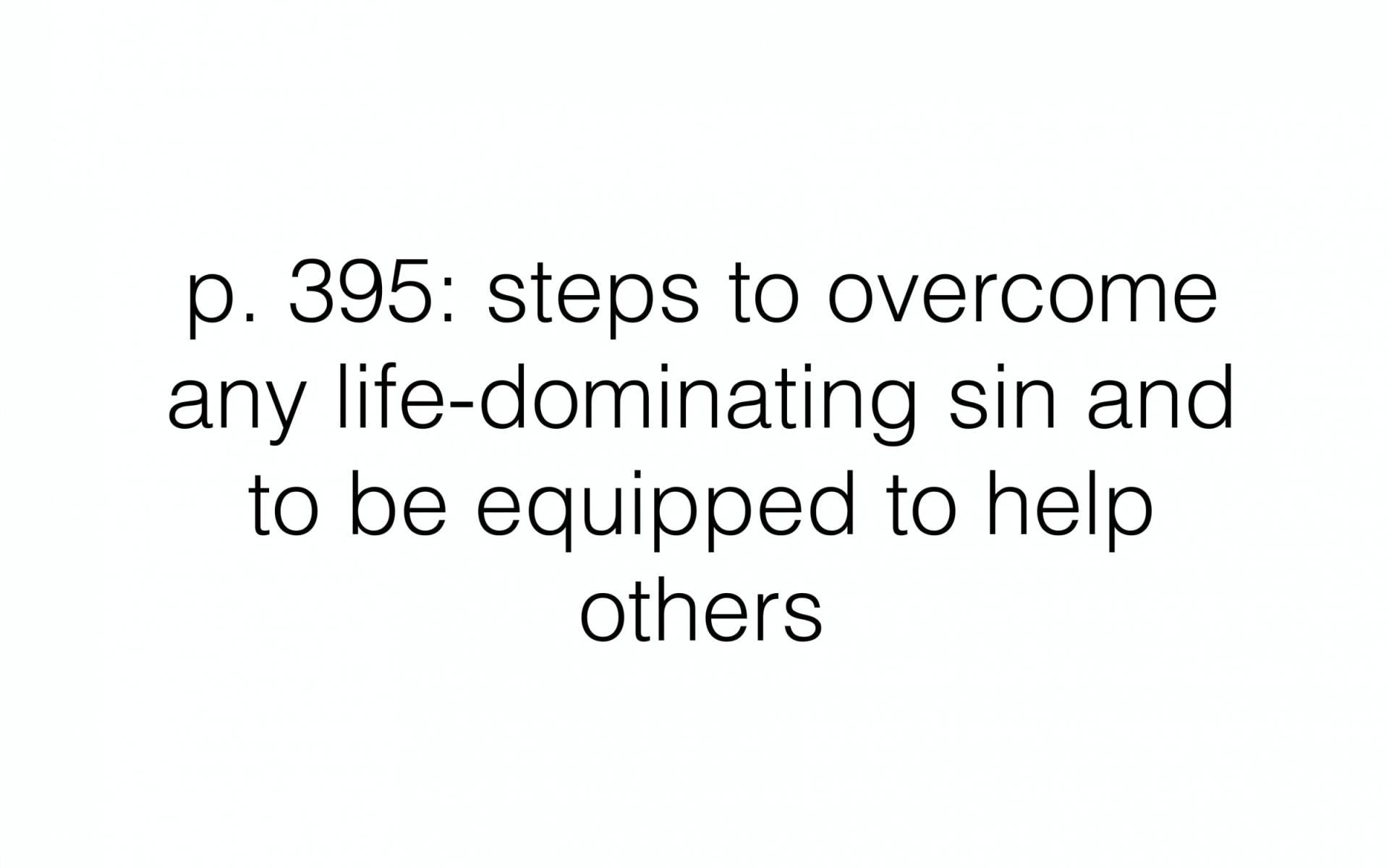 BC&D-53 - Lesson 21-2 - Life Domination Sins 2 - Part 2-11