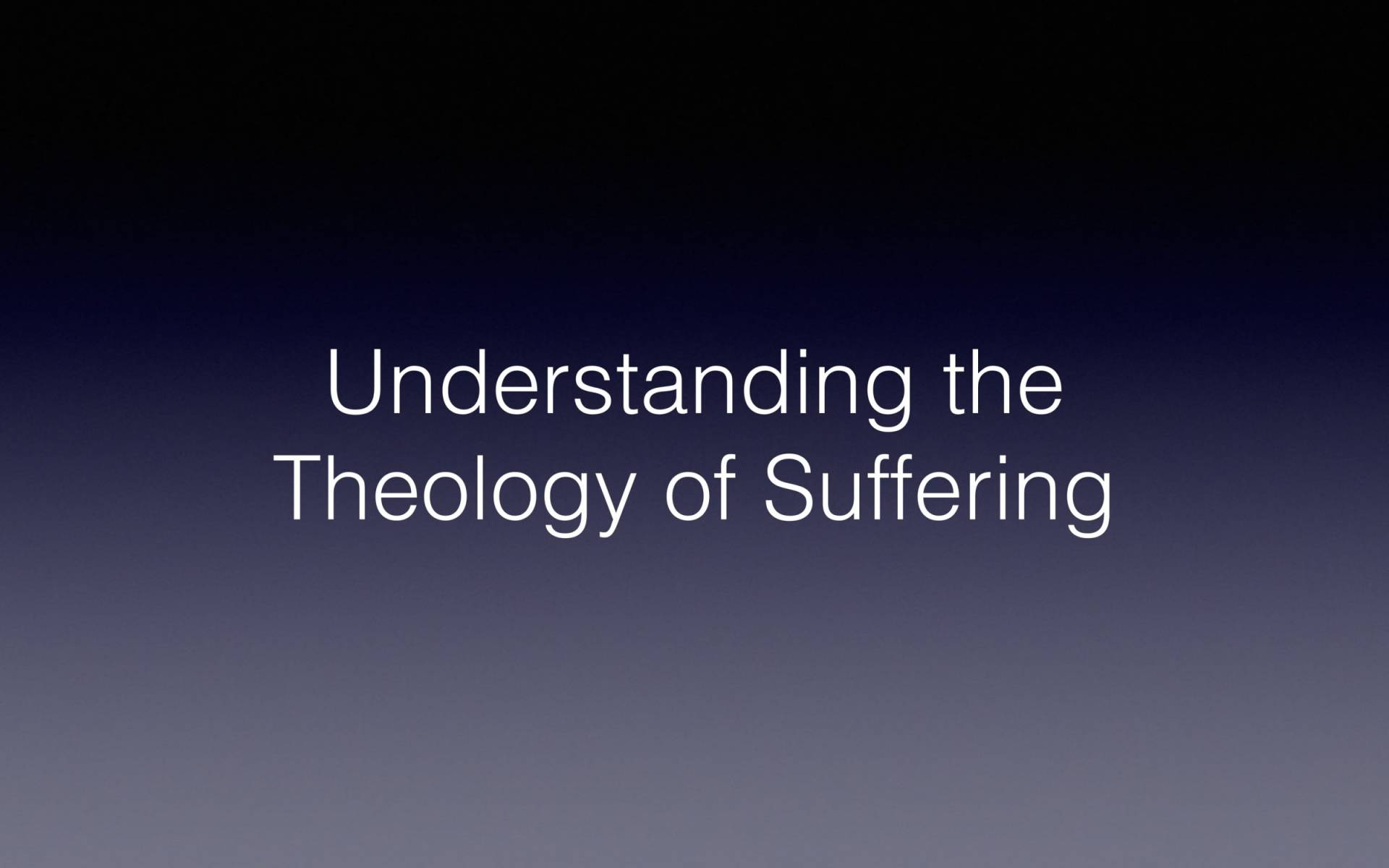 BC&D-56 - Lesson 22-3 - Understanding The Theology Of Suffering-04