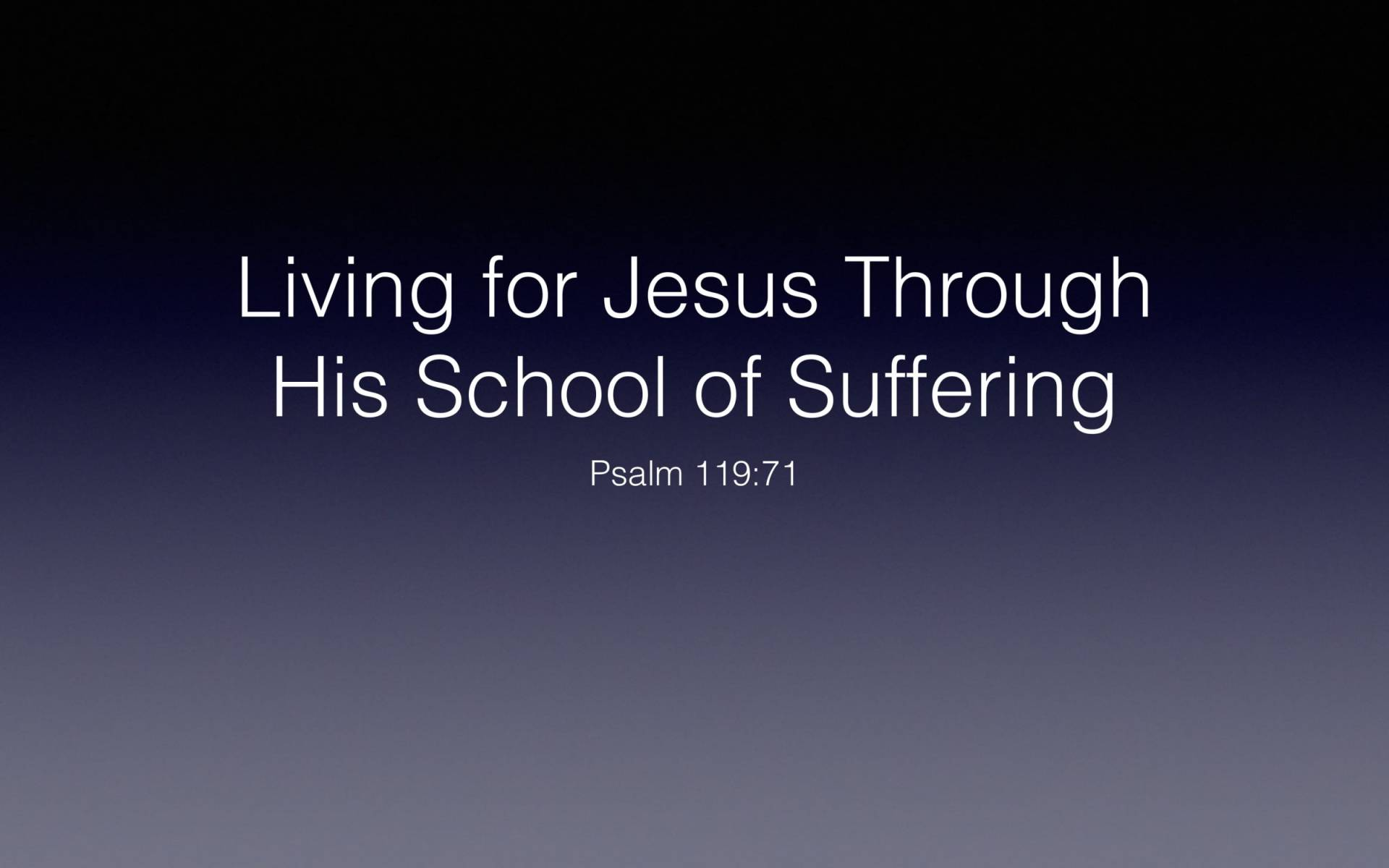 BC&D-56 - Lesson 22-3 - Understanding The Theology Of Suffering-05