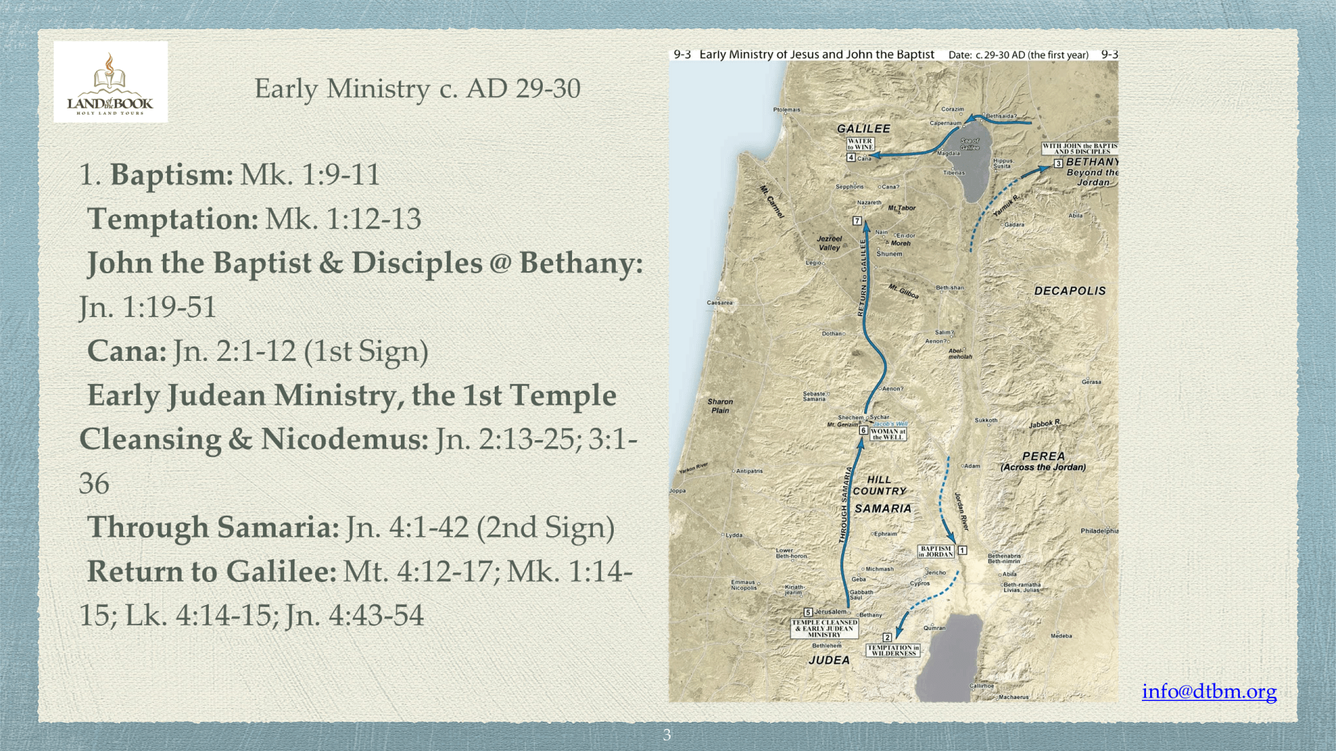 JET-03 - A Jet Tour Through Christ's Life in the Gospels (3)