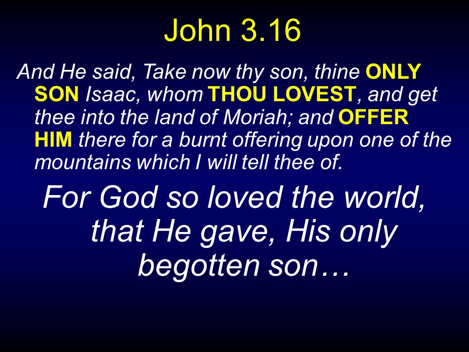 Moriah and Golgotha - Discover the Book Ministries