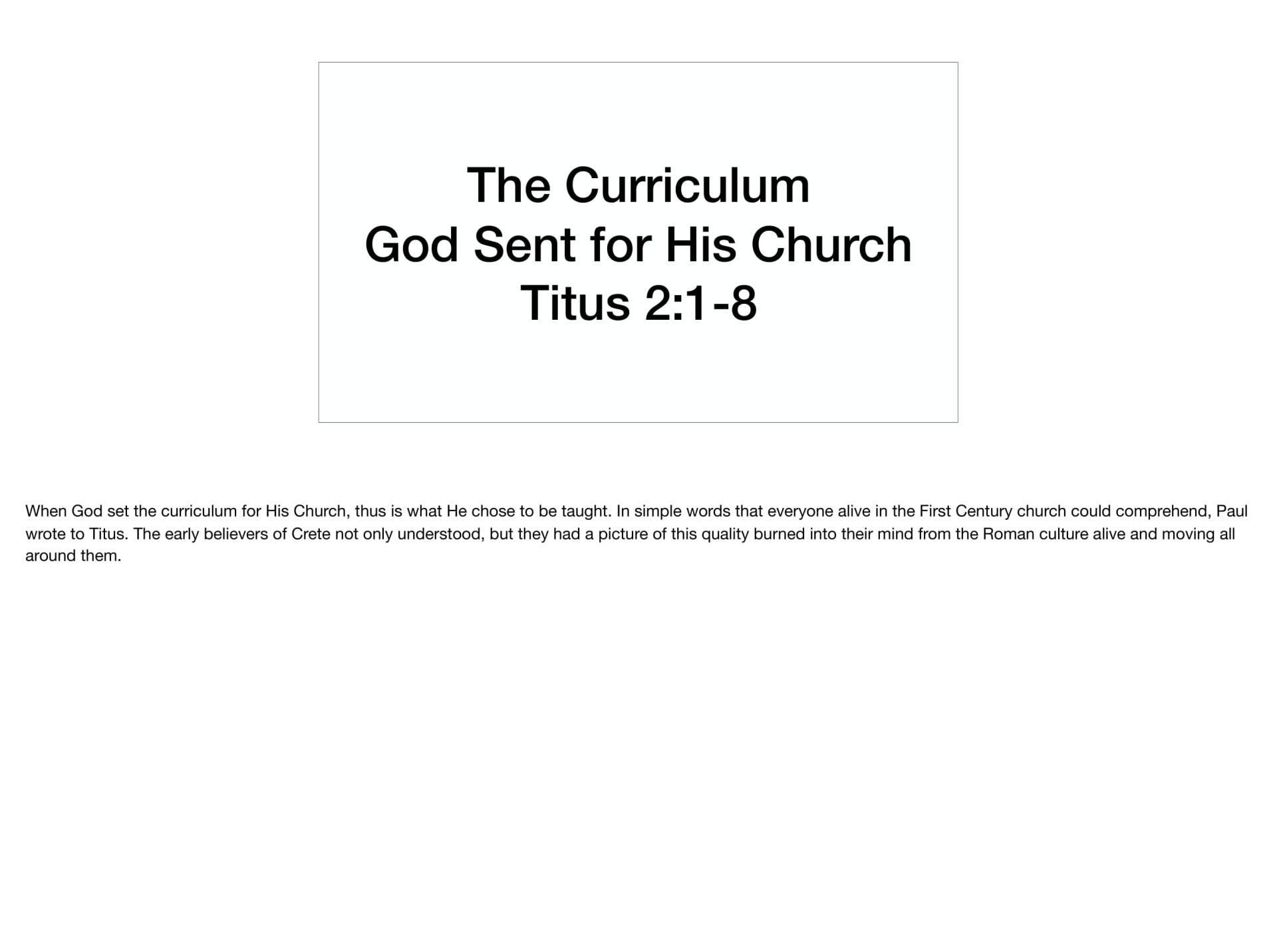 LGI-01 - God's Recovery Program Is Sanctification-13