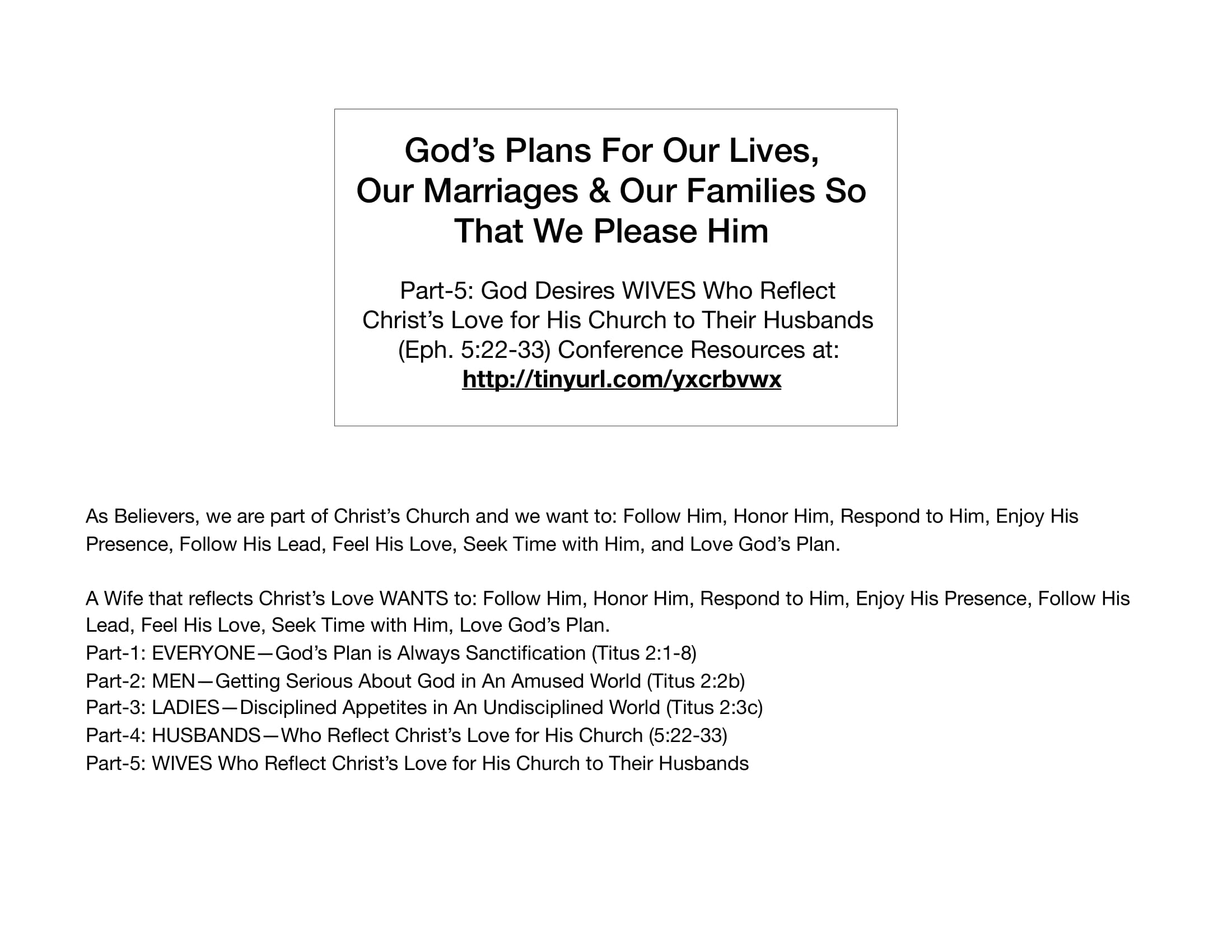 LGI-05 - God Desires Wives Who Reflect Christ's Love To Their Husbands-01
