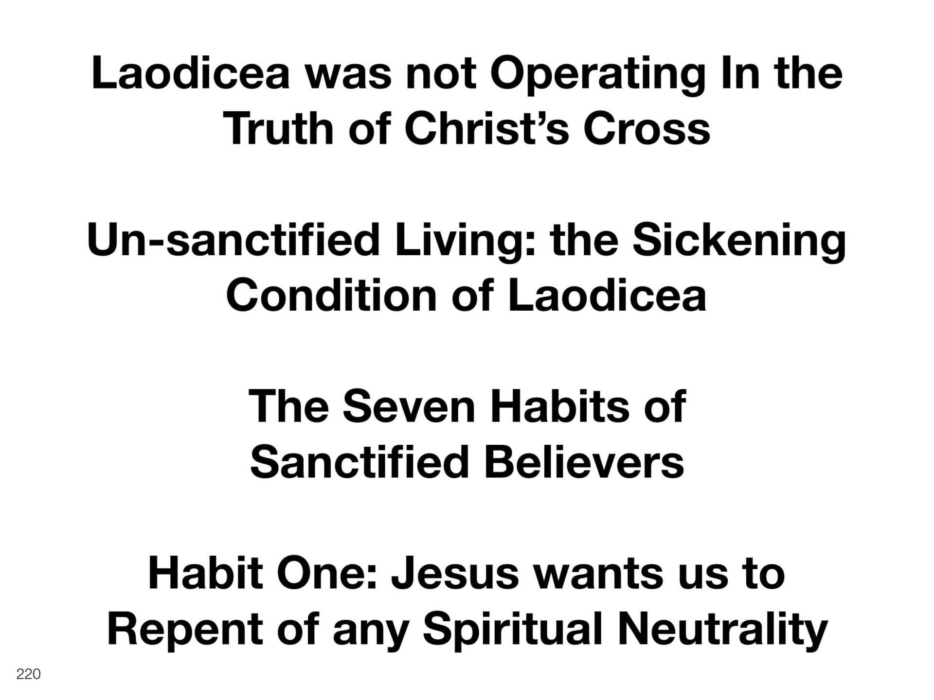WOL2018 Hungary - 10 - Christ's Last Words To His Church - The Seven Habits of Sanctified Believers (10)