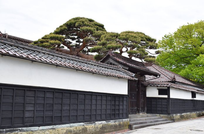 The residence of the Honma family, a wealthy merchant who made a fortune on the Kitamae ship