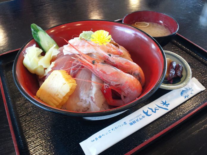 Seafood Don from Tobishima
